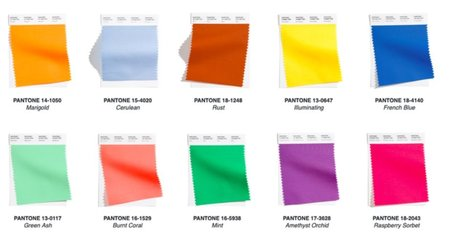 2021 Yaz Modası Renkleri